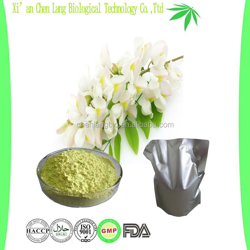 Nature Plant Extract Quercetin By ISO Certified Quercetin Powder Sophora Japonica Extract