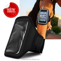 custom logo sport armband printable neoprene running phone case