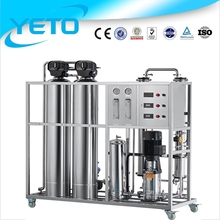 China Reverse osmosis mineral water purification plant / RO pure water purification system / river water purification