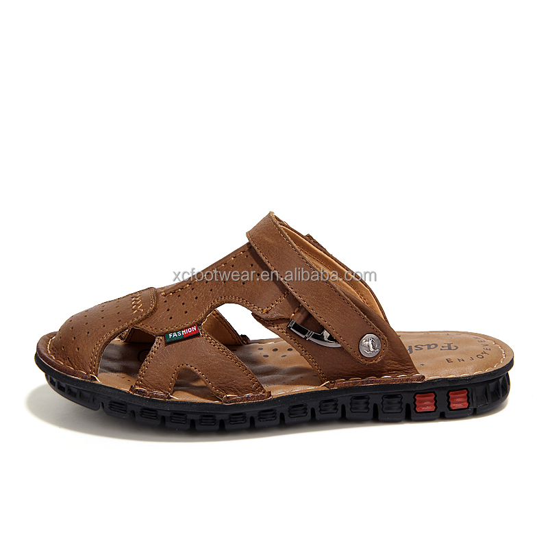 2016 Fashion men comfort slipper <strong>sandals</strong>
