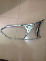 front headlight chrome cover for avanza toyota 2015