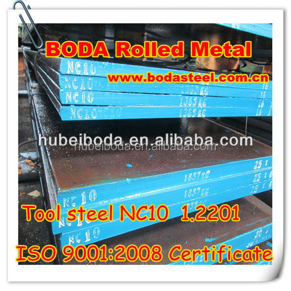Manufacture price 1.2201/NC10 steel material
