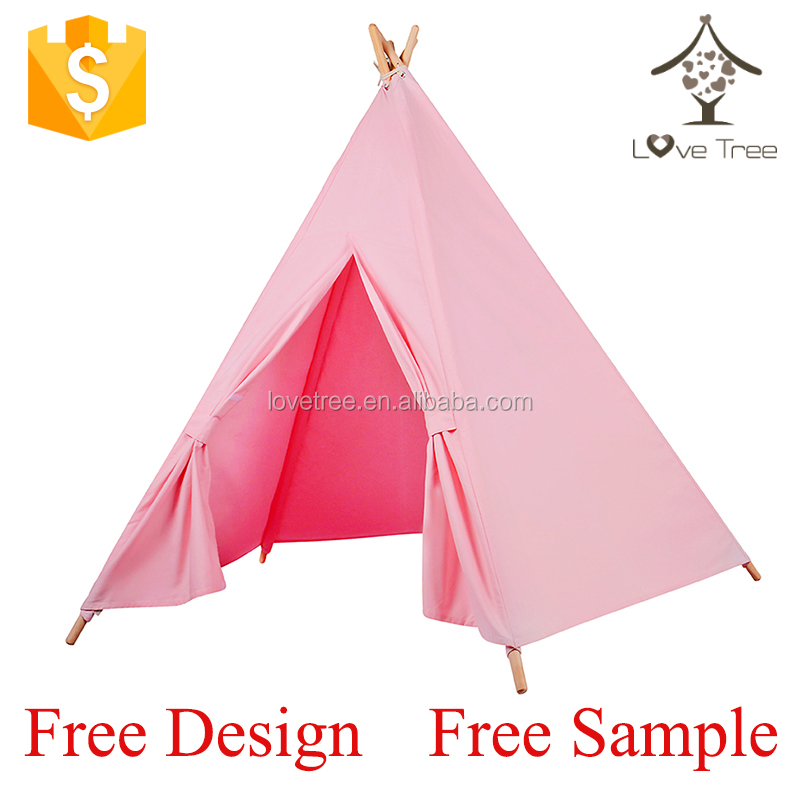 OEM babies kids beach tent kids children play house teepee tipi indian beach tent yurts for wholesale