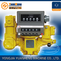 High Accuracy Positive Displacement Fuel Flow Meter