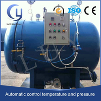 high temperature PLC control rubber pipe vulcanisation autoclave