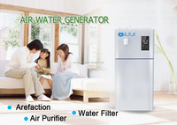 Floor standing Air purifier water generator Freshener Diffuser with ro water filter system household purification plant