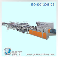 PVC free foam plate extrusion line