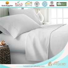 combed cotton hotel and home using plain white pillow case