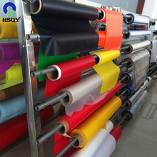 38PHR Transparent Printing Soft PVC Sheet / Colored Soft PVC Film