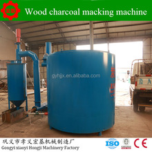 Bamboo Burning Coconut Shell Jute Sticks Sawdust Carbonization Furnace Wood Charcoal Briquette Making Machine