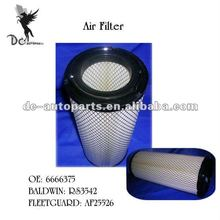 Air Filter 6666375 Fits ATLAS COPCO,BOBCAT,CATERPILLAR,FIAT,FORD,HITACHI,HYSTER,J.C.B.,JOHN DEERE,KUBOTA,NEW HOLLAND,VOLVO