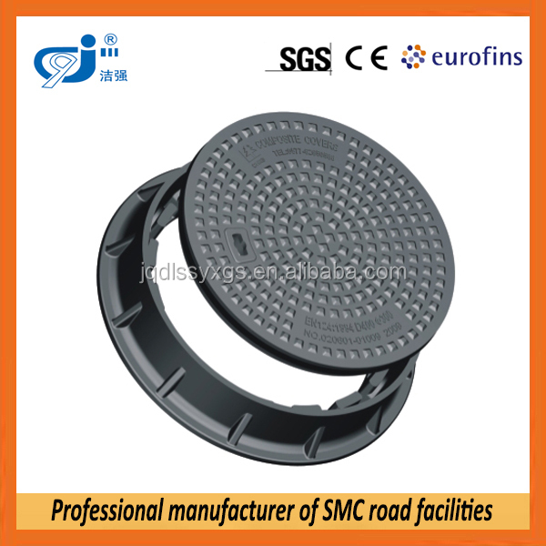 Anti Theft Fiberglass Composite Manhole Cover en124