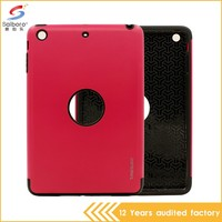 Multi-color/style unique design pc with tpu perfect combination for ipad 2 case