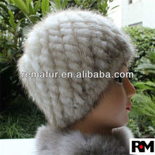 Women Winter Mink Fur Hat in Cheap Price