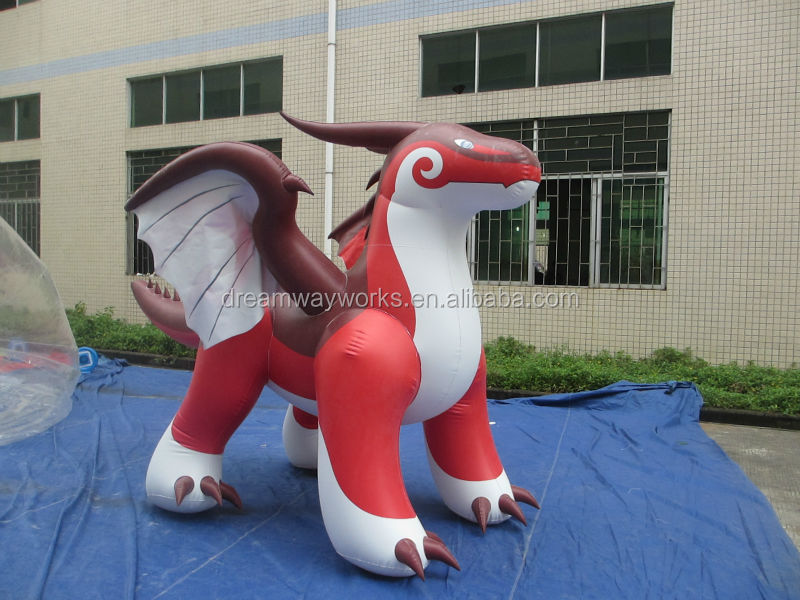 Durable inflatable zenith dragon, zenith dragon inflatable model for sale