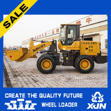 1.8ton 0.9m3 buket capacity 78kw rated power earth moving machine/small payloader/ quick loader XJN-ZL30 for sale