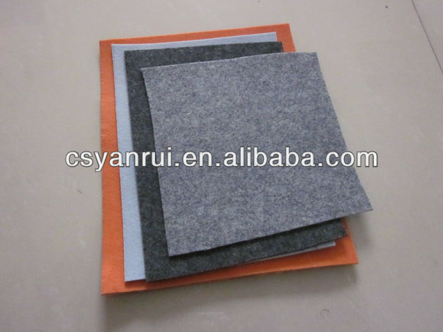 600gsm 100% Polyester needle punched nonwovens felt