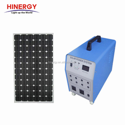 All in one solar panel home kits 300w 1kw solar power energy system 500w home solar generator 220v portable