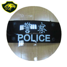 Special shape sheild anti riot round shield