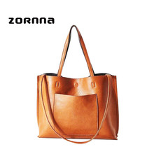 Reversible Vegan Soft Artificial PU Leather Fashional Lady Shopper Handbag Tote Bag