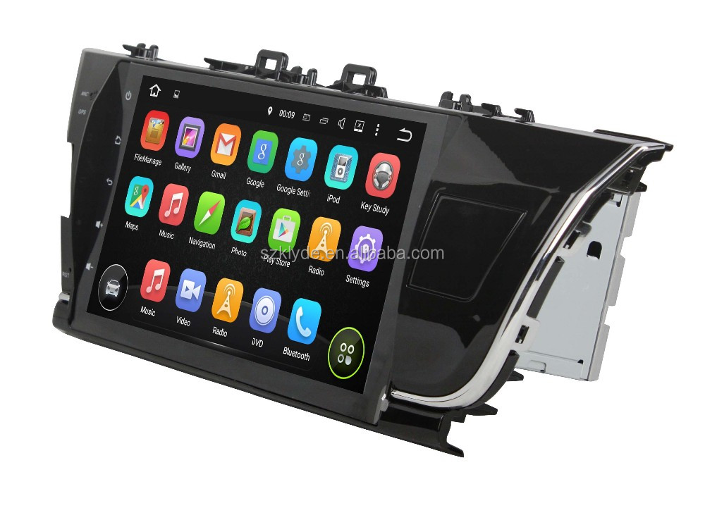 "Great Bluetooth excellent sound car radio support DAB+ and WAZE map android 5.1.1 for 10.1"" COROLLA 2014-2015 Left"