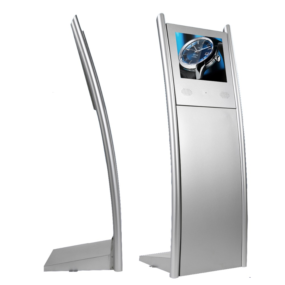 "17"" Indoor Floor Stand LCD Digital Signage"