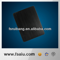 black brushing aluminum base plate,customized precision stamping parts