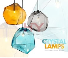 Popular Vintage & Metal Pendant Lamp Lights Lightings with Iron Base Glass Cover