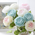 Hot selling silk peony flowers wholesale home decor peony silk flower artificial peony wedding decoration silk peony