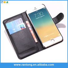 2015 selling design cell phone cases manufacturer wallet leather cases for IPHONE 5