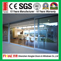 Thermal Break Double Glass Aluminium Sliding Doors with certificate AS2047/AS2208/CE