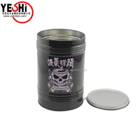 Mini Gift Boxes Wholesale Round Metal Candy Tin Box Decoration Gifts