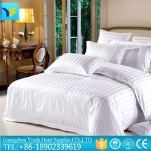 bright color made in China satin fabric wholesale hemp 3pcs bedding set for home use