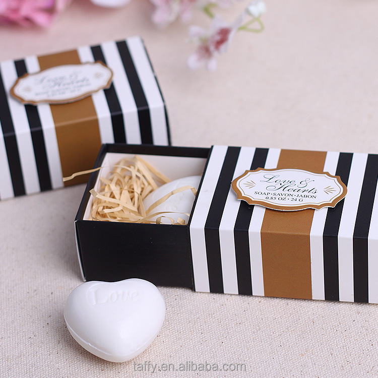 wholesale cheap bridal shower favor guest keepsake bomboniere wedding favor scented love heart soap gift