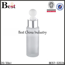 20ml 30ml different design personal care free sample cheap glass bottles for sale with dropper