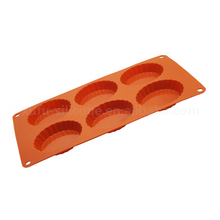 Food grade silicone cookie muffin chocolate baking tool,silicone ripple cupcake liner