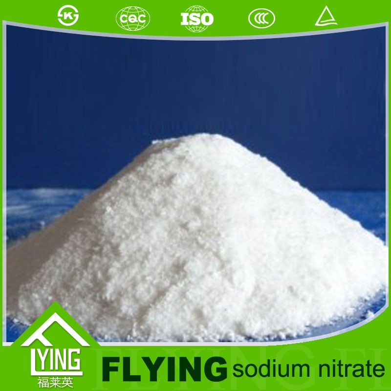 China chemical formula nano3 sodium nitrate for food grade and industral grade with good price