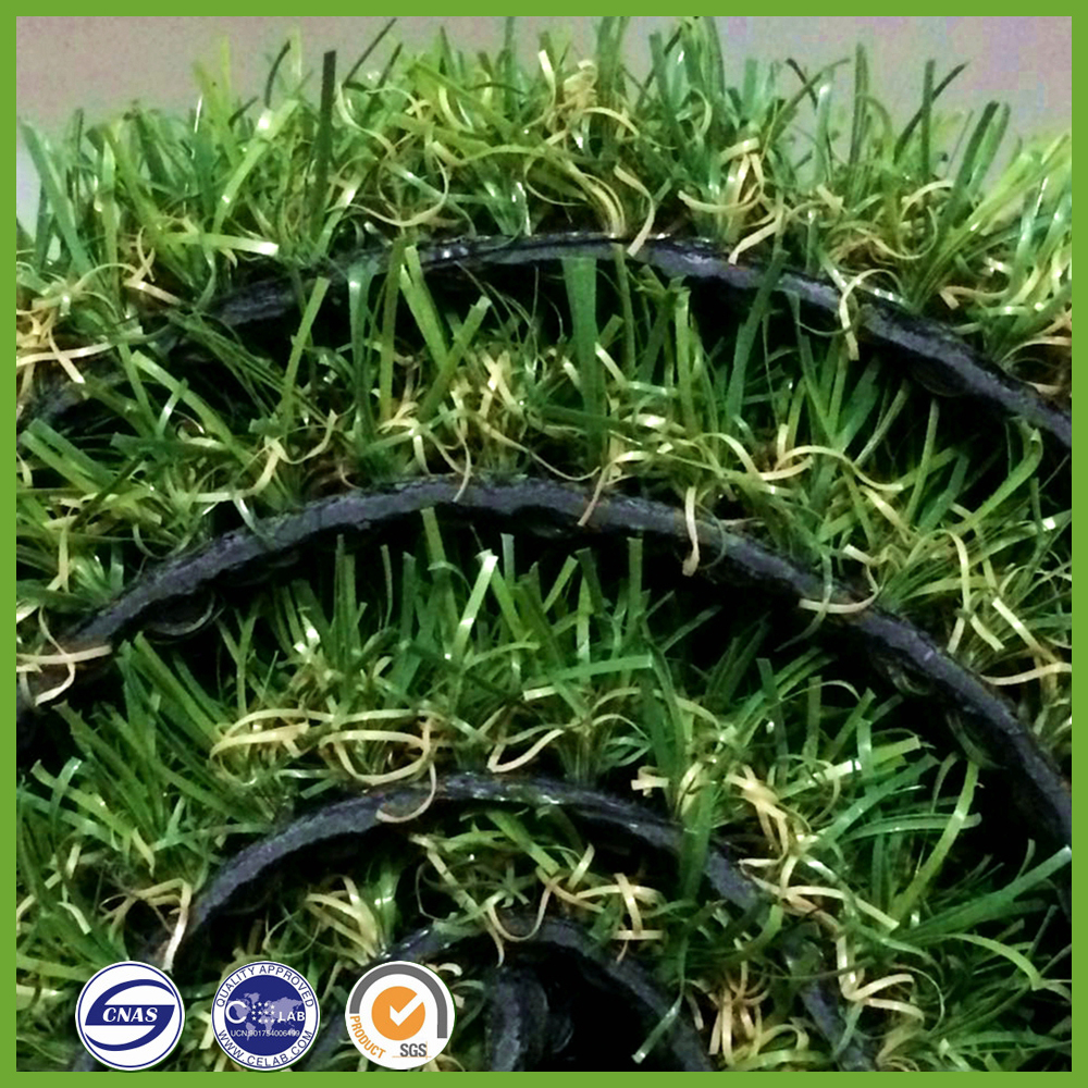 best quality Flooring decorative green landscaping fake lawn artificial grass pool