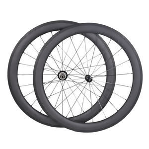 Carbon 700C Road bicycle Rim 25mm width 60mm hight clincher wheel