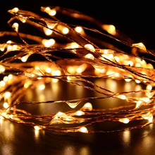 Wholesale Remote Controlled Copper Led Usb String Lights For House Decoration