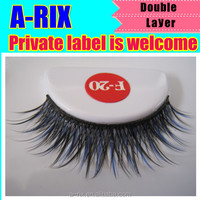 luxe glamour designer natural double layer lashes