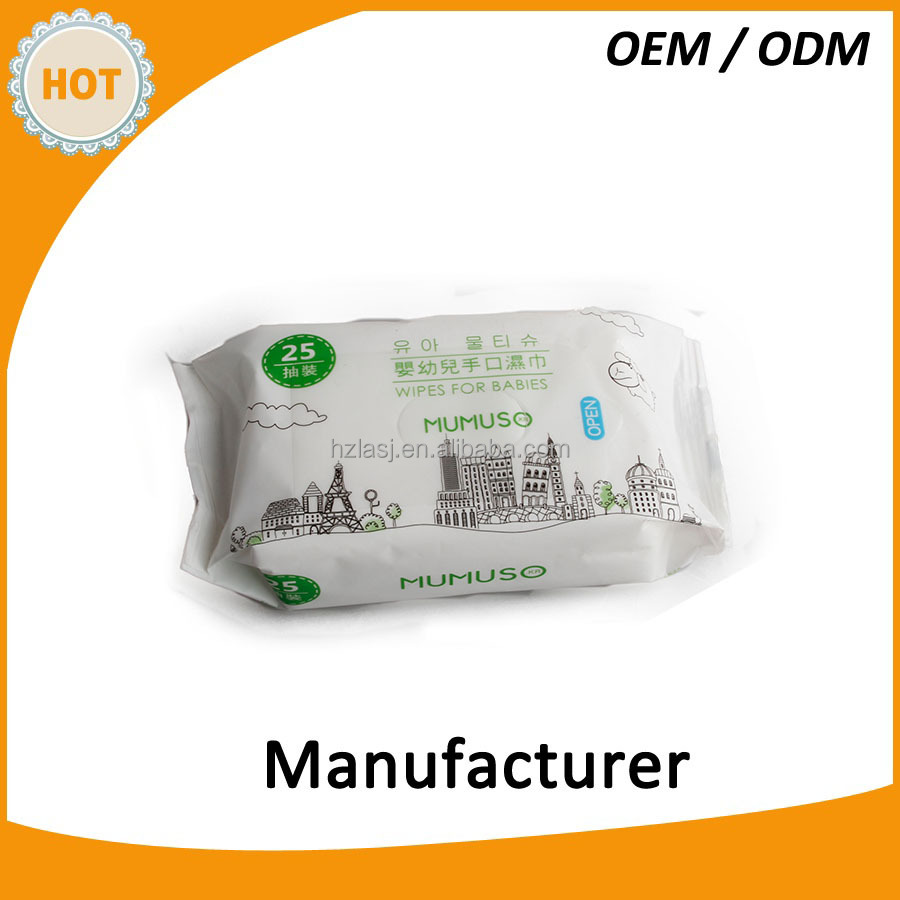 High Quality Factory made OEM Cleaning Wet Wipe Baby Wipes