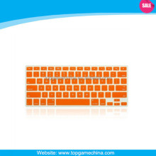 Custom silicone keyboard protector for macbook laptop