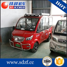 High speed small electric pickup van