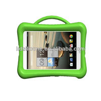 kids 7 inch tablet case heavy duty silicon case with handle shock proof for kids