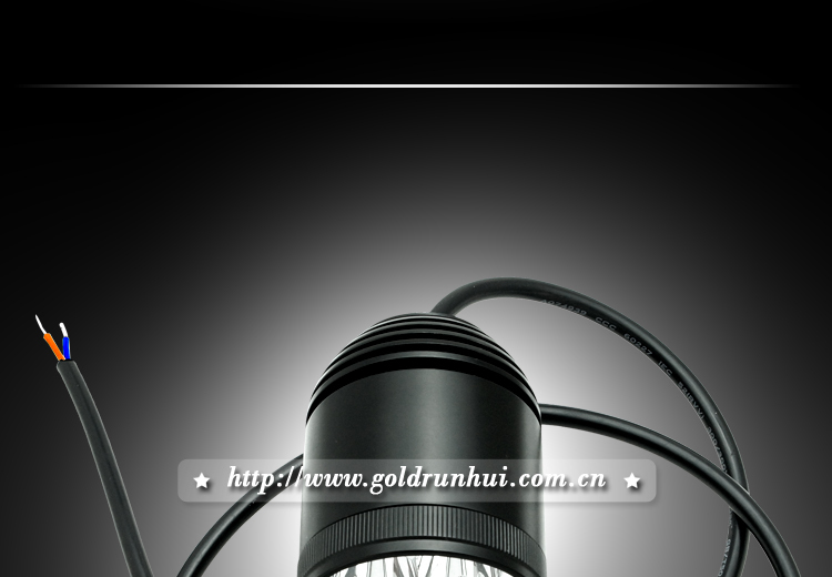 Goldrunhui RH-B0141 Hot 30 Watt Round LED Work Light, LED Headlight for Motorcycle