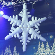 Led Light Decoration Inflatable Snowflake Model for Stage Decoration