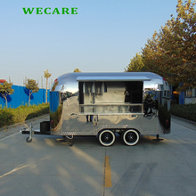 stainless steel material catering electric bike food cart
