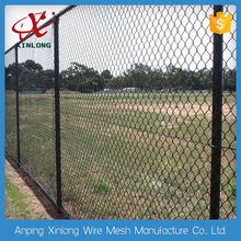 good price volleyball court fence / PVC coating chain link mesh for sale