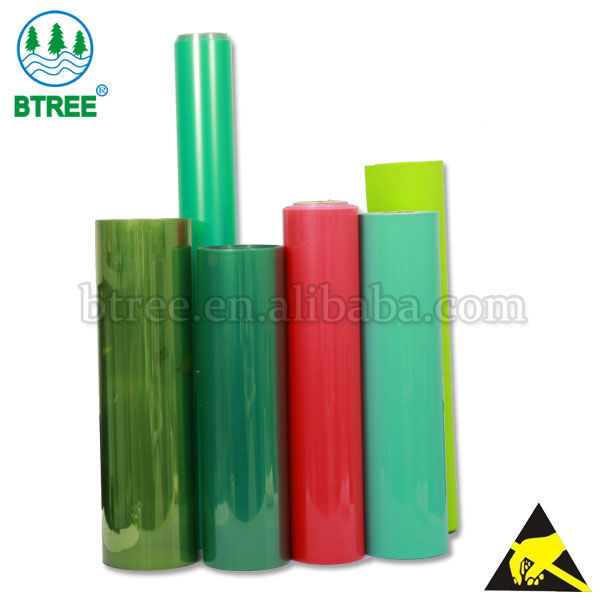 Btree Transparent Colored Plastic Sheets For Electronic Trays